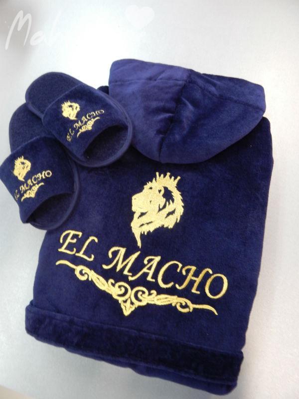 Халаты с именной вышивкой заказать в интернет магазине 37