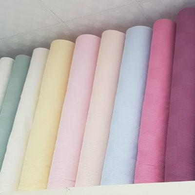 Вафельная ткань цветная под заказ (Турция)