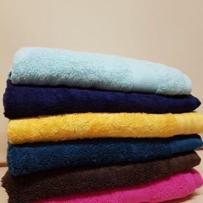 Махровые банные полотенца 550 г/м2 Турция