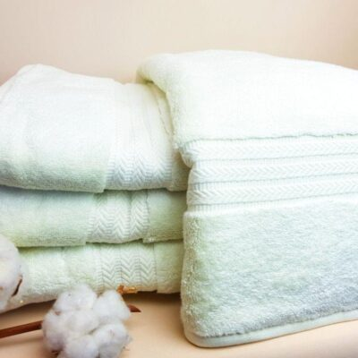 Банное полотенце микрокоттон Мятный свет
