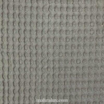 Вафельная ткань серая Турция