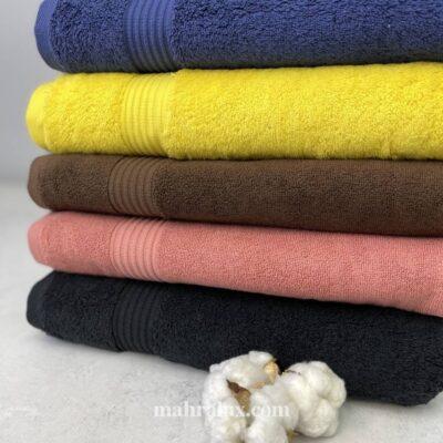 Банные махровые полотенца Яркие краски