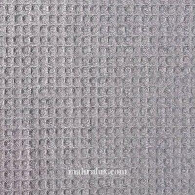 Вафельная ткань серая Турция 240 см