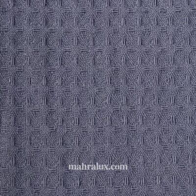 Вафельная ткань тёмно-серая Турция, 240 см
