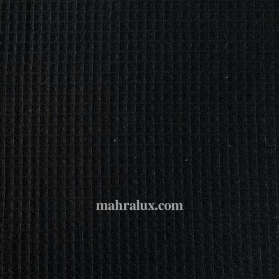 Вафельная ткань чёрная Турция, 155 см