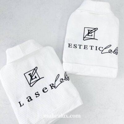 Пошив и брендирование вафельных халатов